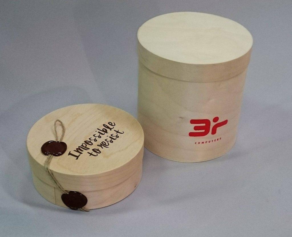 Wooden box 130 x 26...180 mm