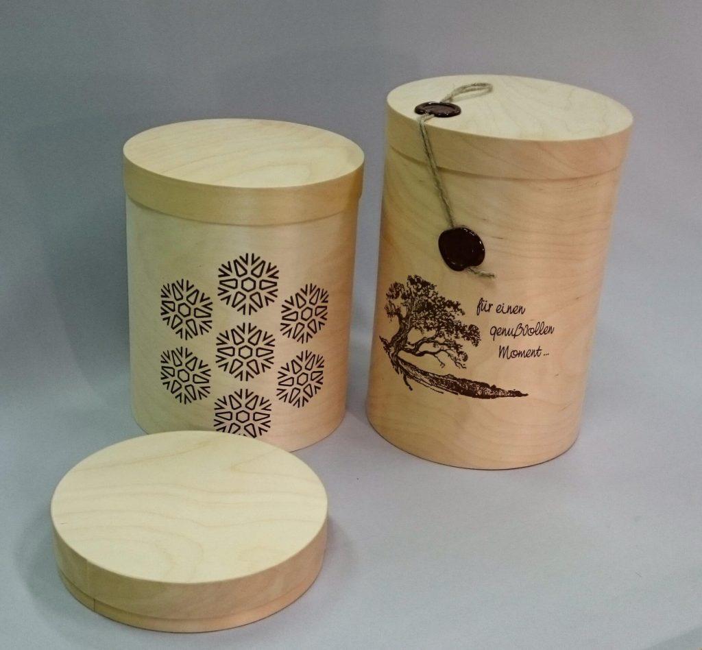 Wooden box 150 x 26...210 mm