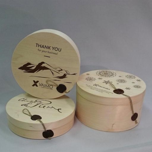 Wooden box 205 x 26...100 mm